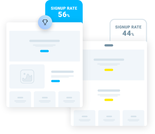 Craft custom landing pages that get noticed