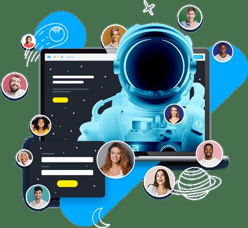 Promovează-ți afacerea online cu planul GetResponse Free-Forever