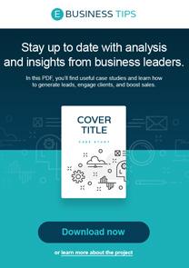 E-business Tips newsletter template