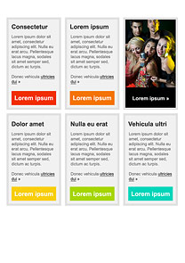 Party Orange newsletter template