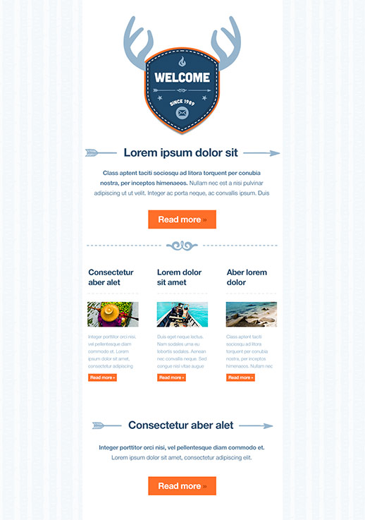club newsletter templates free
