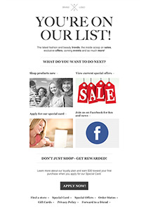 Welcome to our list 1 newsletter template
