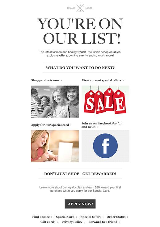 education newsletter templates email marketing getresponse