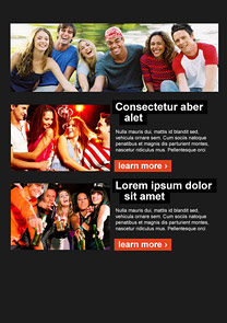 Eventful Orange newsletter template