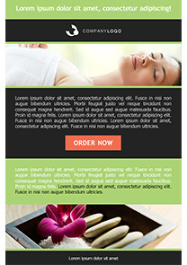 Relaxed Green newsletter template