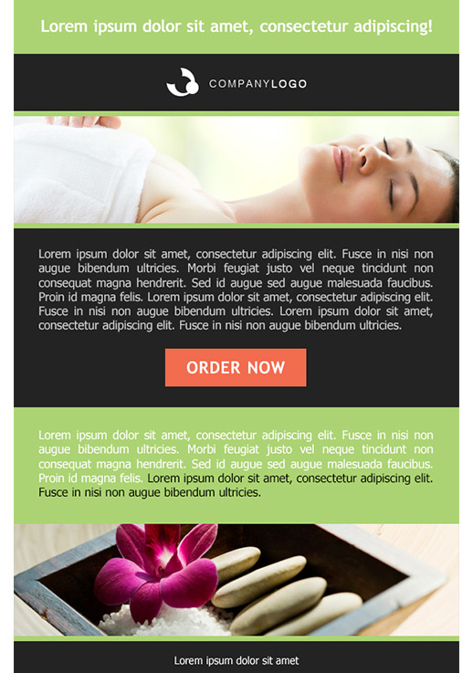 Health And Beauty Newsletter Templates Email Marketing Getresponse