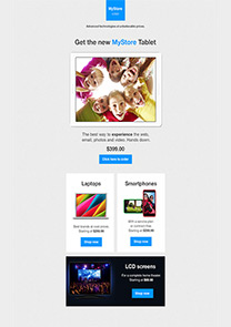 New Product Offer newsletter template
