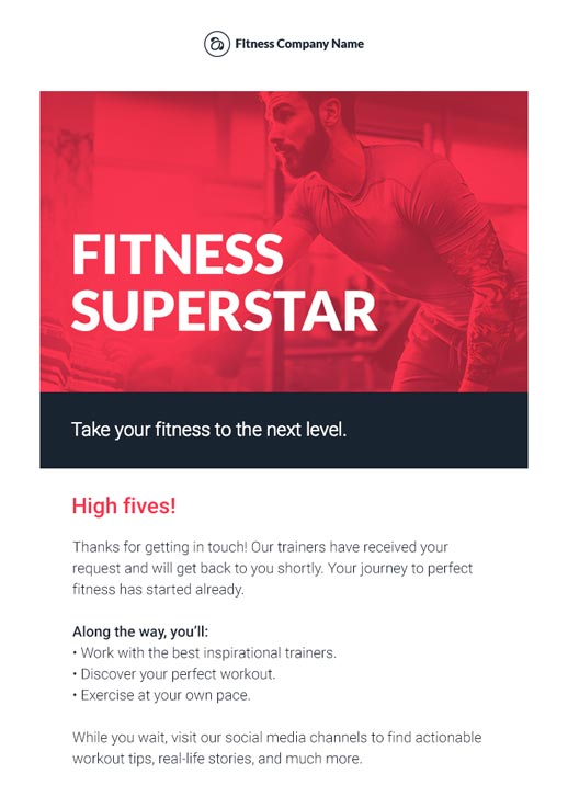 Sports And Recreation Newsletter Templates Email Marketing GR - Social media marketing email templates