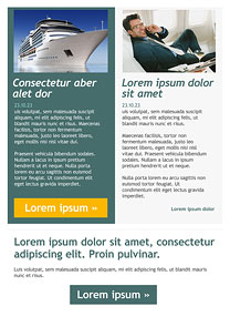 The man of success Grey newsletter template